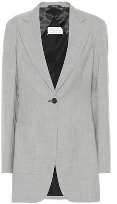 Maison Margiela Houndstooth wool blazer