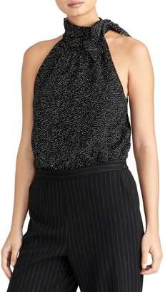 Rachel Roy Collection Bow Neck Sleeveless Blouse