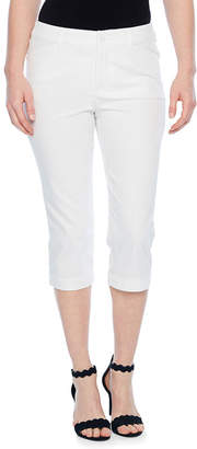 ST. JOHN'S BAY Secretly Slender Twill Crop Pant - Tall Inseam 20