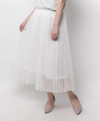 modify (モディファイ) - モディファイ マットオーガンジープリーツスカート