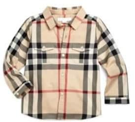 Burberry Infant's Check Shirt