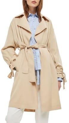 Women's Topshop Truster Duster Coat $110 thestylecure.com