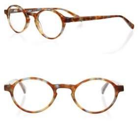 Eyebobs Board Stiff 16 43MM Round Reading Glasses