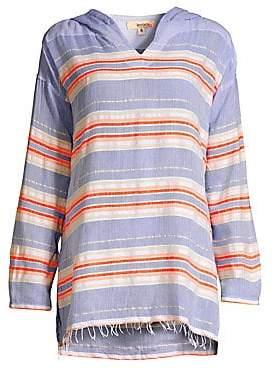 Lemlem Women's Fiesta Striped Hoodie