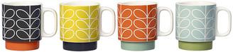 Orla Kiely Linear Stem Stacking Mugs