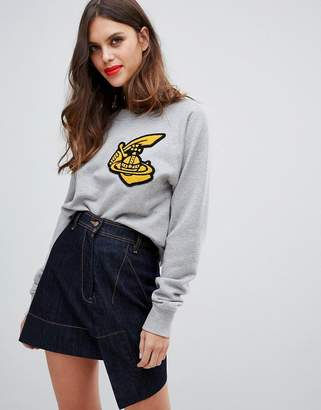 Vivienne Westwood classic sweatshirt with logo