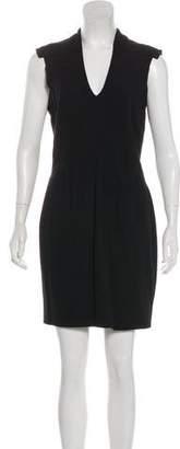 Helmut Lang Cap Sleeve Mini Dress