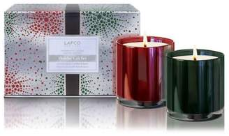 Lafco Inc. Crimson Berry & Winter Balsam Holiday Candle Set