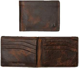 Nixon Men's SE Cape Bi-Fold Wallet Brown/Black