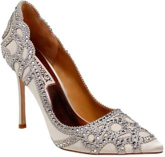 Badgley Mischka Rouge Pointy Rhinestone Pumps