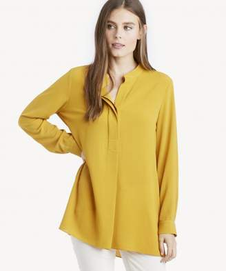 Sole Society L/S Soft Texture Henley Tunic