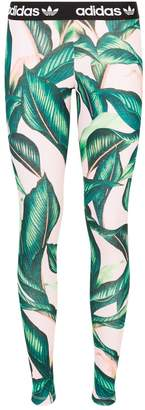 adidas Leaf Print Leggings