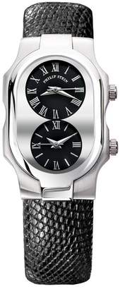 Philip Stein Teslar Men's Signature Small Dual Time Zone Watch