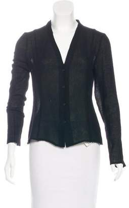 The Row Cashmere V-Neck Cardigan