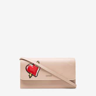 Falker Neutral, Womens grained bovine leather pouch in skin Bally