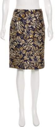 Prada 2016 Embroidered Skirt