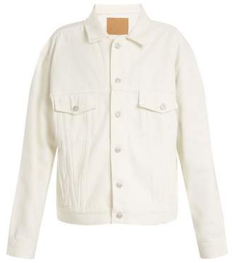 Balenciaga Like A Man Jacket - Womens - White