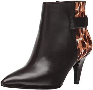Nine West Women's Jaison Leather Ankle Bootie