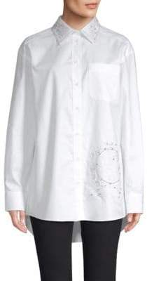 Tommy Hilfiger Tommy Iconic Flag Button-Down Shirt