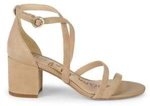 e6b38254ef83 Sam Edelman White Leather Sole Women s Sandals - ShopStyle