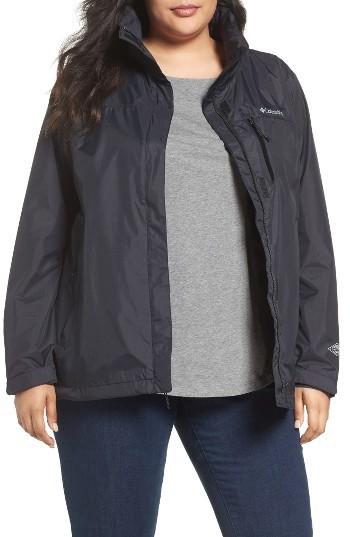 ColumbiaPlus Size Women's Columbia Pouration Waterproof Jacket