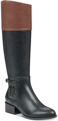 Tommy Hilfiger Merritt Riding Boots Women Shoes