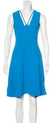 Antonio Berardi Sleeveless A-Line Dress