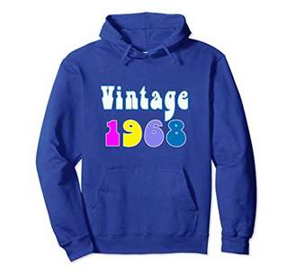 Cool Funny 50th Birthday Gift Hoodie 1968 Psychedelic 60's