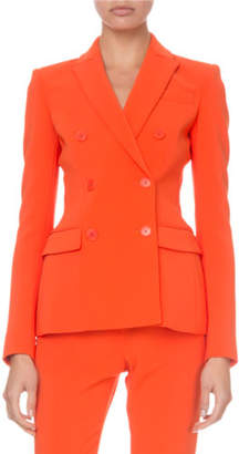 Altuzarra Fitted Double-Breasted Classic Blazer