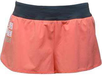 Reebok Womens CrossFit Knit Woven Shorts Coral/Dark Sage