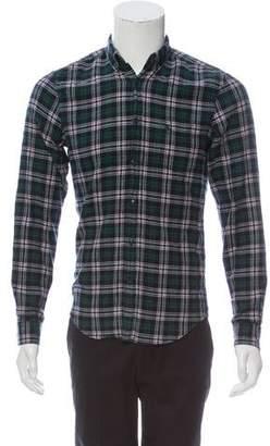 Burberry Check Plaid Shirt