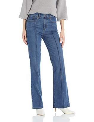 Ella Moss Women's High Waist Wide Leg Trouser Pant