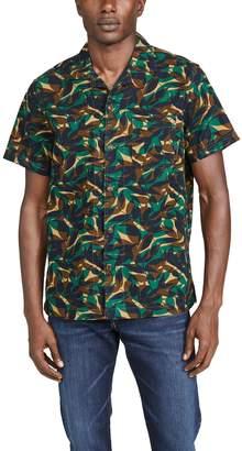 J.Crew J. Crew Wallace & Barnes Forest Camo Shirt