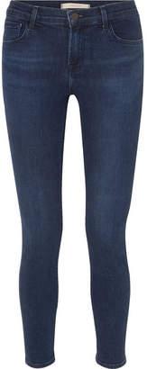 J Brand 811 High-rise Stretch Skinny Jeans - Blue
