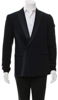 CNC Costume National Wool Single-Button Blazer