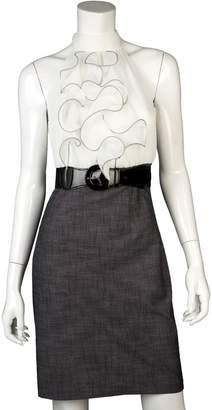 Iz Byer California California Mock-Layer Ruffle Dress