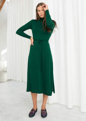 And other stories Merino Wool Dress
