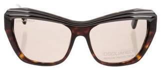 DSQUARED2 Tinted Logo Sunglasses