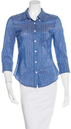 Boy. by Band of Outsiders Striped Button-Up Top $75 thestylecure.com