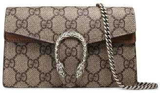 Gucci beige Dionysus GG Supreme super mini bag