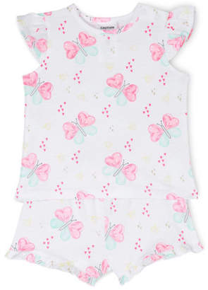 Sprout NEW Girls Essential Pajama Set White