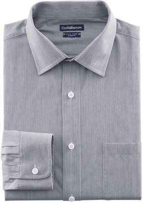 Croft & Barrow Big & Tall Regular-Fit Easy-Care Spread-Collar Dress Shirt
