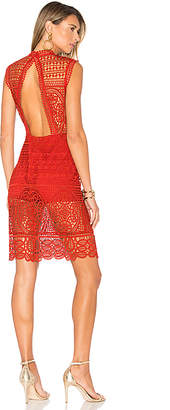 Lovers + Friends Blush Dress in Red $218 thestylecure.com