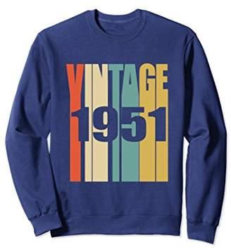 Retro Vintage 1951 Sweatshirt 67 yrs old Bday 67th Birthday