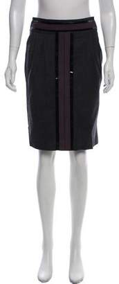 Tory Burch Wool Pencil Skirt