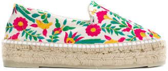 Manebi floral embroidered espadrilles