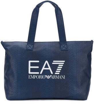 Emporio Armani Ea7 logo tote
