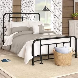 Gracie Oaks Yaqi Panel Bed