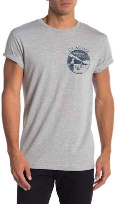 Body Rags Short Sleeve Glacier National Park Circle Tee