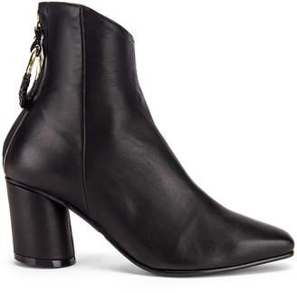 Reike Nen Oblique Turnover Ring Boots in Black | FWRD
